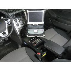 Havis 2013-2019 Ford Interceptor Utility & 2011-2019 Ford Explorer (Retail Standard Passenger Side Mount Package)