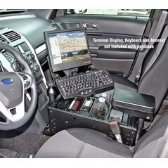 RAM Complete Tough-Box Console for the Ford Police Interceptor Utility