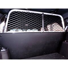 Go Rhino Full Expanded Metal Window Rear Partition for Ford Interceptor SUV