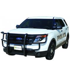 Go Industries 39015 Full Wrap Push Bumper for Ford Interceptor SUV