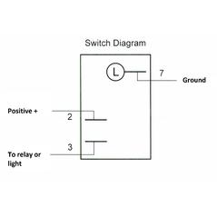 Lifetime LED Work Light Switch