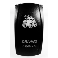 Lifetime LED Driving Light Switch