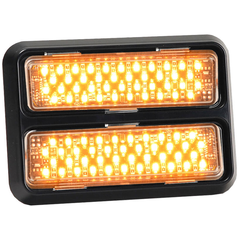 Star DLXT Thinline Surface Mount LED Warning Lights Dual Bezel