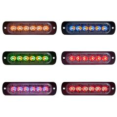 "Buyers Thin 4.5"" Horizontal Dual Color LED Light"