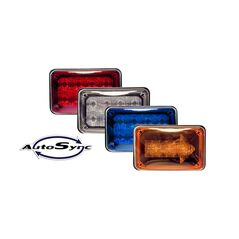 "TecNiq K60 6""x 4"" LED Flasher with AutoSync"